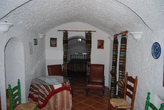 Cuevas Pedro Antonio de Alarcon: l'intérieur