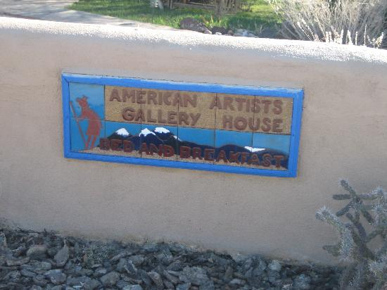 American Artists Gallery B&B: This is the place - welcome!