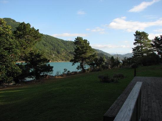 Sherrington Grange : View from Deck