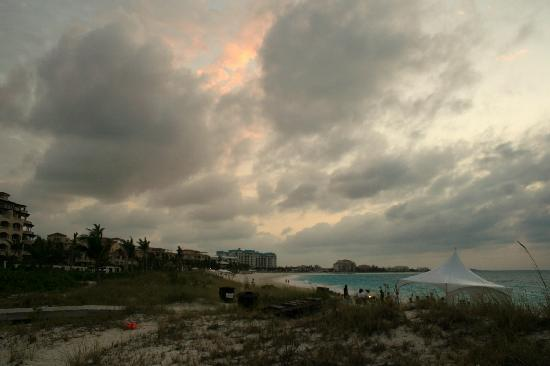 Grace Bay : Panorama with Afterglow