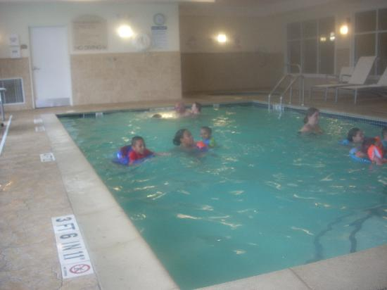 Holiday Inn Express & Suites Auburn Hills : This is the pool area