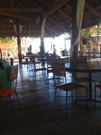 Balai Resort Anilao: the dining hall