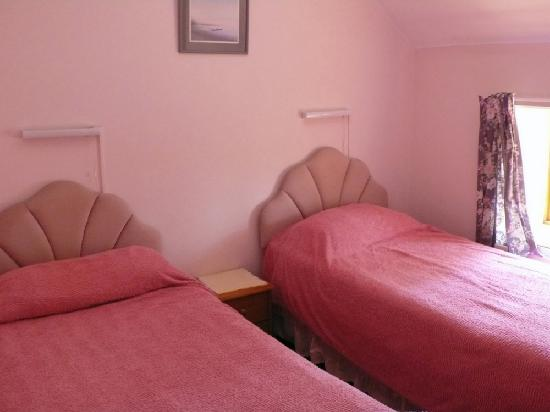 One of the three bedrooms in a cottage at the Hayes