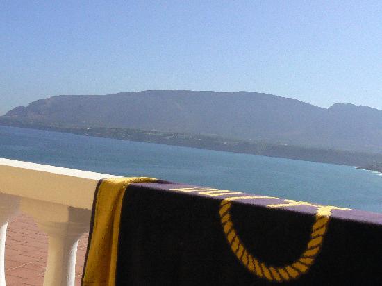 Hotel Riviera: Vista dal balcone