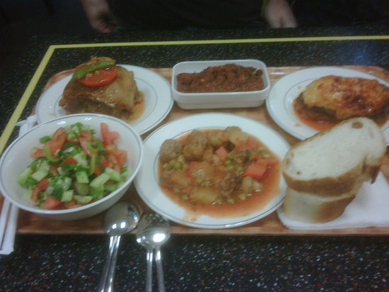Afacan Restaurant: what we had