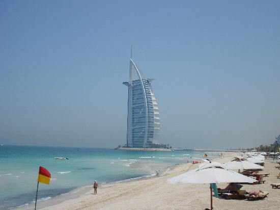Jumeirah Al Qasr at Madinat Jumeirah: View from Beach club