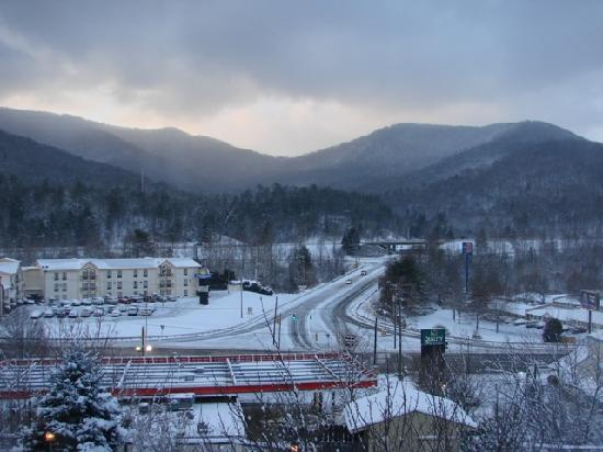 Holiday Inn Asheville - Biltmore East: Our view from our room!