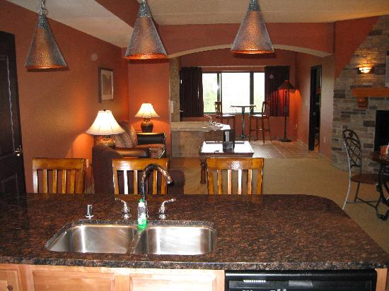 Chula Vista Resort Review Updated Rates Sep 2019: El Grande Condo / View From The Kitchen