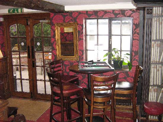 Legh Arms: The Snug Area of the Bar