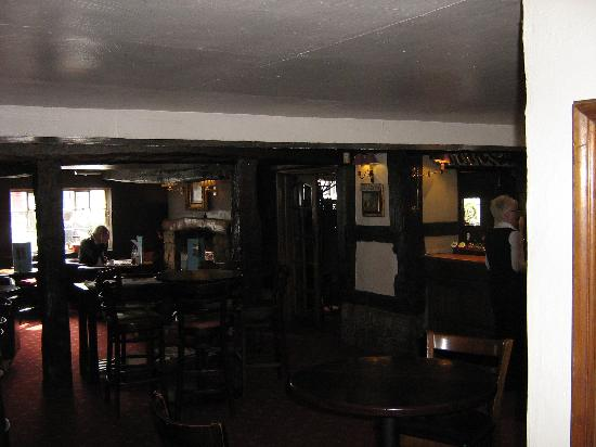 Prestbury, UK: The Main Bar Area
