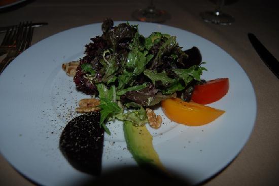 Wally's Desert Turtle: salad