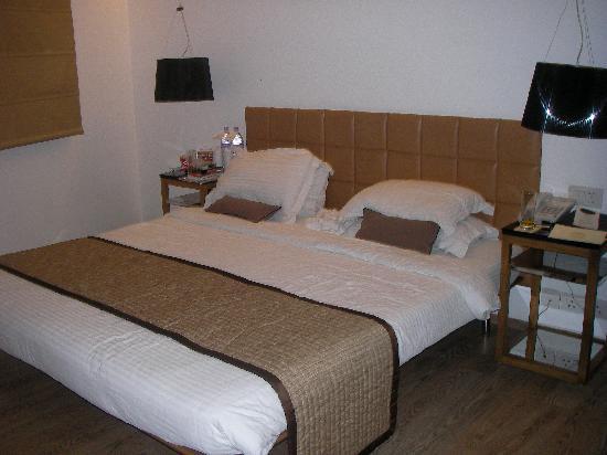 هوتل بالاس هايتس: Bedroom