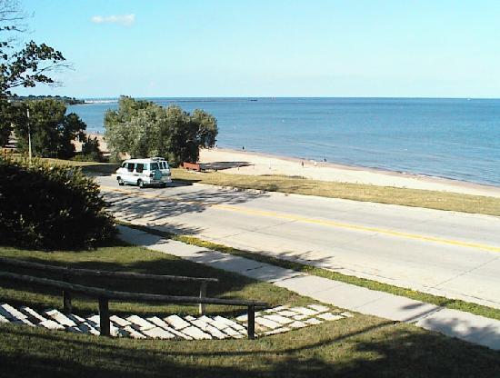 Sheboygan Wi King Park Beach Seen From Swift Avenue