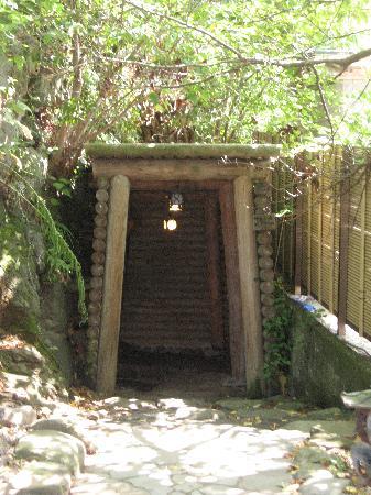 Anrakuji Temple: まぶ湯入口