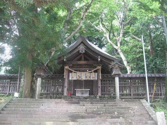 Suwa, Japón: 前宮の拝殿