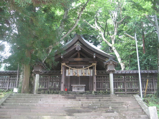 Suwa Shrine: 前宮の拝殿
