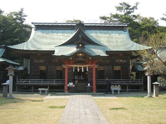 Oarai Isosaki Shrine: 本殿