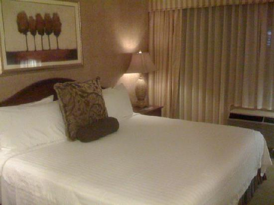 Bethesda Court Hotel: Nice comfortable king bed