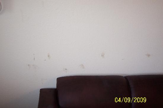 Siegel Suites Select Casa Grande: damage on walls