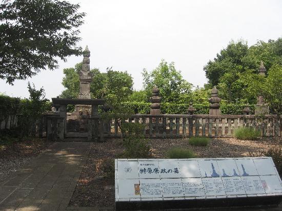 Morinji Temple: 善導寺の榊原康政の墓