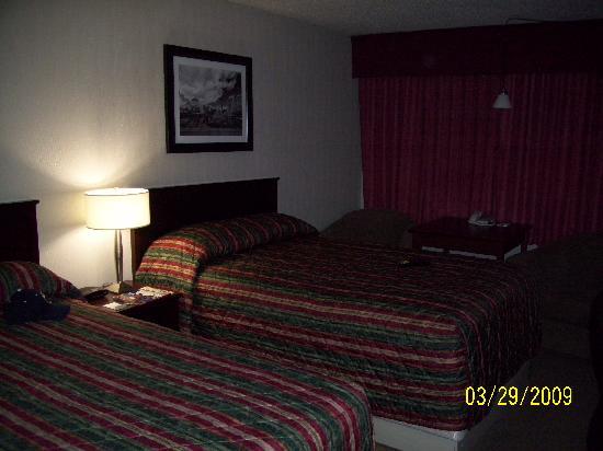 Sandman Hotel Edmonton West: Doppelzimmer