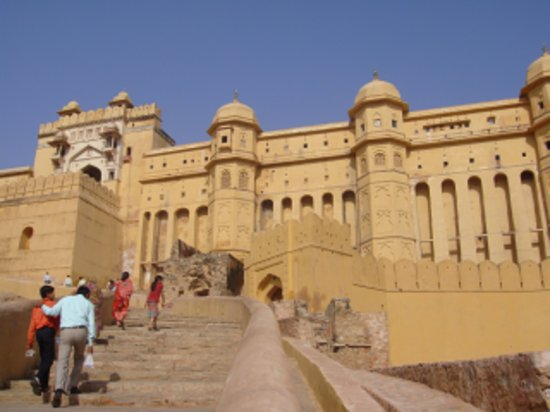 Jaipur, Hindistan: amber fort