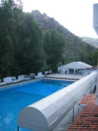 Balneario de Chulilla: View from room balcony