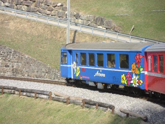 Hotel Pratschli: Arosa - trip up by Train