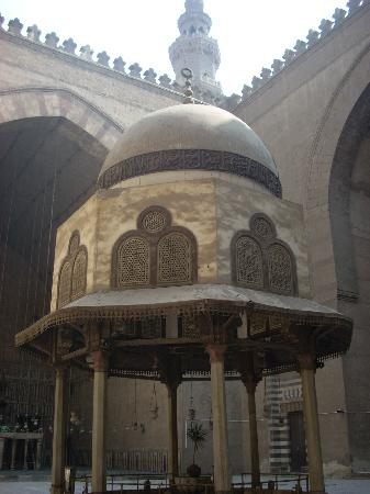 Mosque And Madrasa Of Sultan Hassan: The Interior Court Of The Mosque Of Sultan  Hassan
