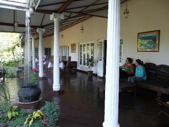 Hotel Cranford Villa : le terrasse