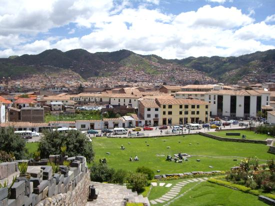 Cusco, Peru: View from Iglesia Santo Domingo