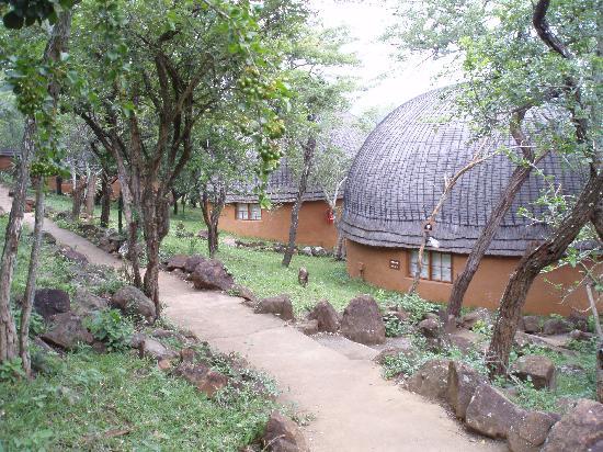 Nkwalini, Sydafrika: Beehive huts
