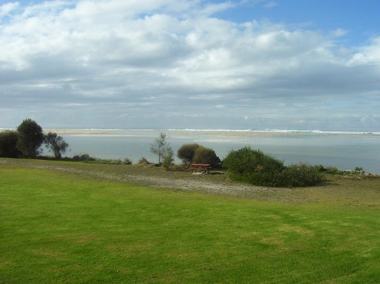 Scamander, Australia: view from our room