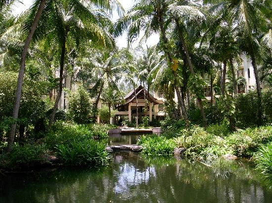 Tanjung Rhu Beach: Hotel garden