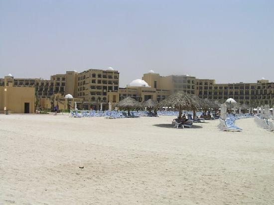 Hilton Ras Al Khaimah Resort & Spa : Hotel from beach