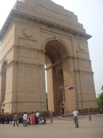 Nju Delhi, Indija: india gate