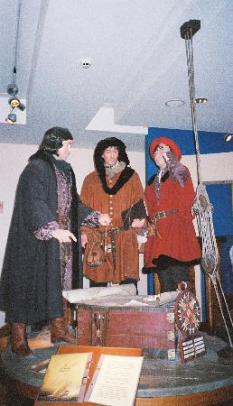 Madeira Story Centre : Life-sized historical figures