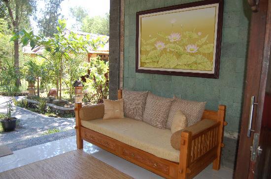 Alam Gili: terraza