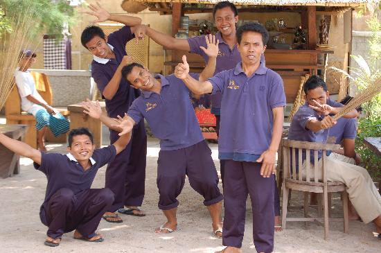 Alam Gili: el personal del hotel