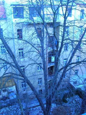 Hotel Union Prague: Vue depuis notre chambre