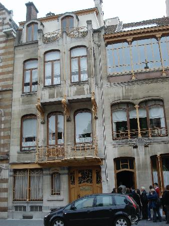 Horta Museum (Musee Horta): house front (no photos allowed inside)