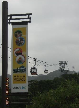 Mingle Place On The Wing: Ngong Ping Cable car