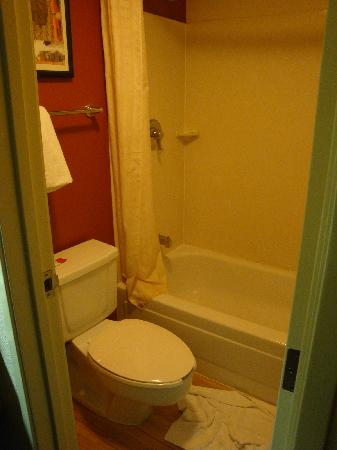 Red Roof Inn Tallahassee: Nice Bathroom