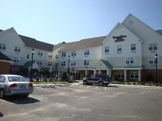 TownePlace Suites Jacksonville : Front View