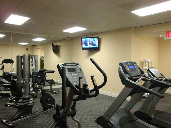 Quality Hotel Conference Center: Cool Gym