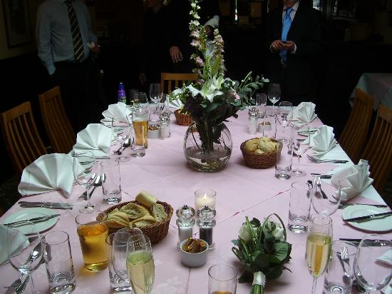 Brendon Arms: Wedding Lunch
