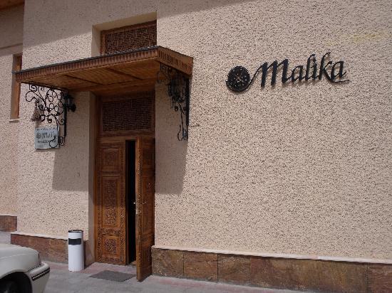 Hotel Malika Samarkand: Entrée