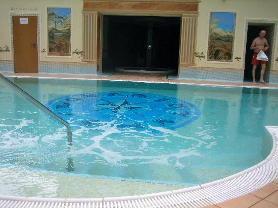 Hotel International Sinaia: Pool view  2