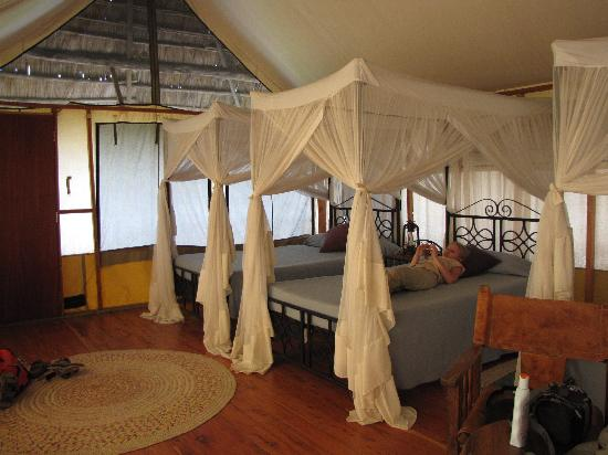 Maramboi Tented Camp: our room