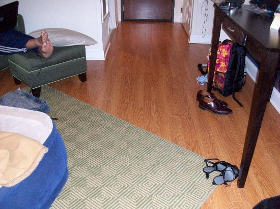 Hotel Indigo Albany-Latham: hardwood floors